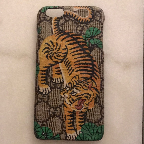 quality design 12a7b 96f92 Gucci Bengal Tiger IPhone 6 Plus Case